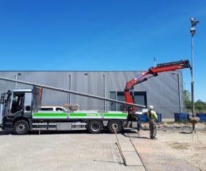 vrachtwagen Stam & Co